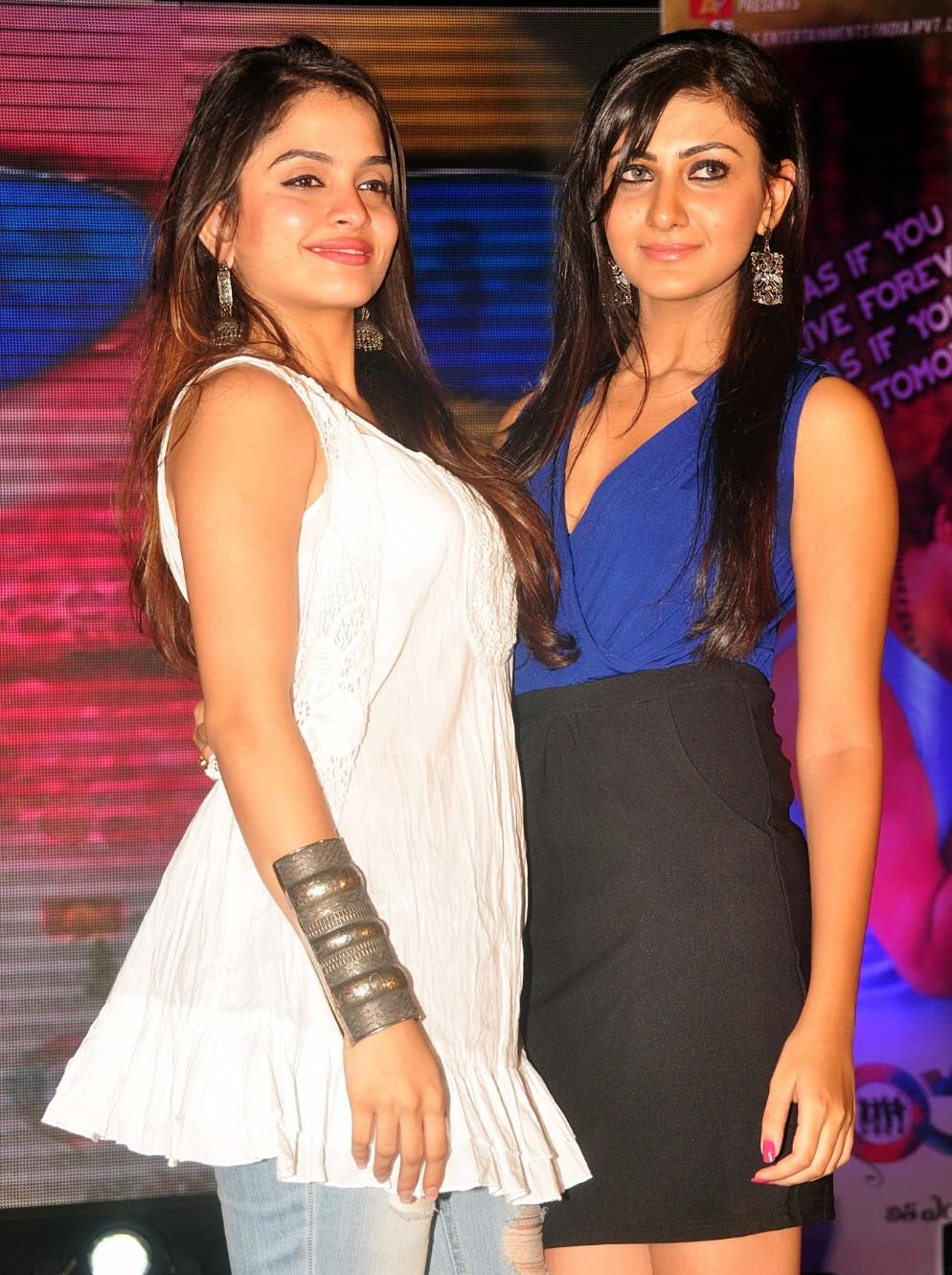 Neelam Upadhyaya Sheena shahabadi_009_Action 3D Function Skirt