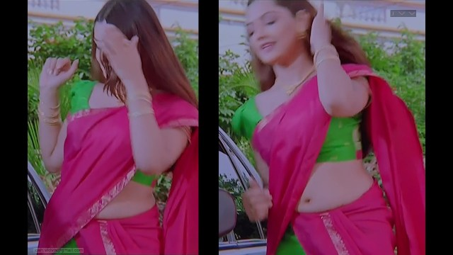 Aarthi Agarwal_NLNL_005_Saree navel Hot