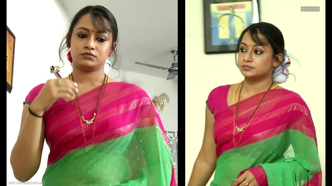 Sreeja_Bommalattam_021_TSaree Navel