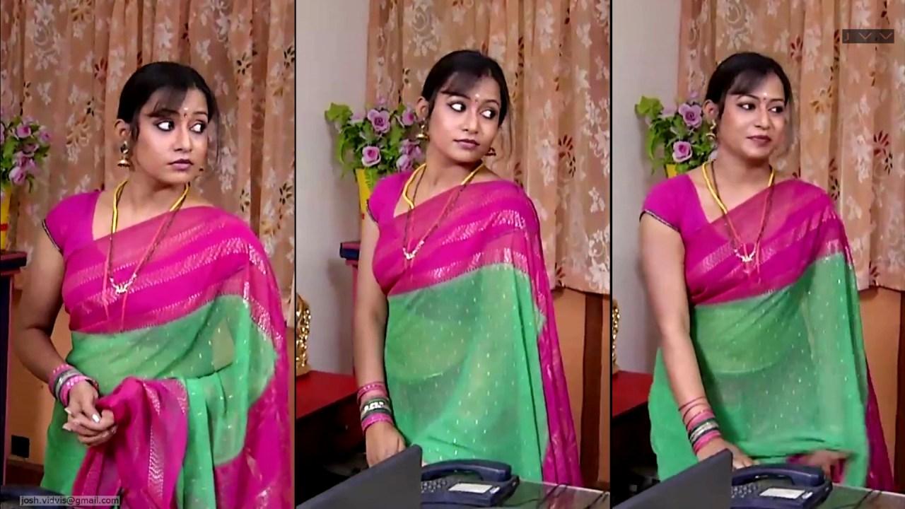 Sreeja_Bommalattam_022_TSaree Navel