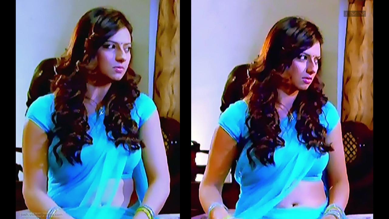 Isha Chawla_SN_04_Saree Navel Scene