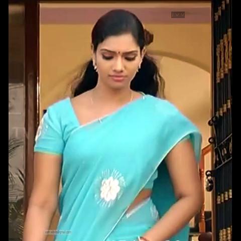 Krithika_Tami TV _10_hot saree navel caps