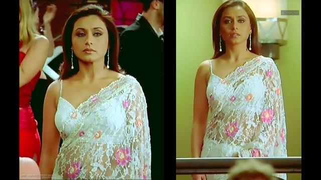 Rani Mukherji_KANK_01_ScrCap Saree navel