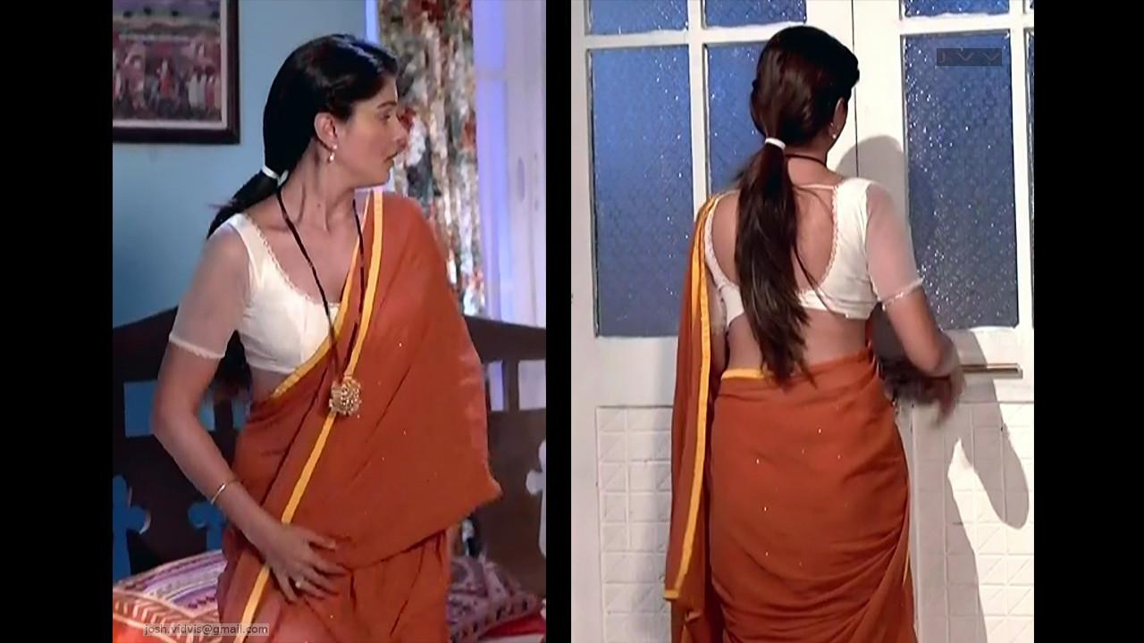 Rubina Dilaik_Hindi TV Actress_04_Hot Saree Pics