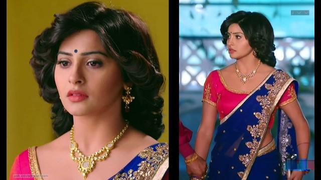 Yukti Kapoor_Hindi TV Actress_05_Hot Saree Stills
