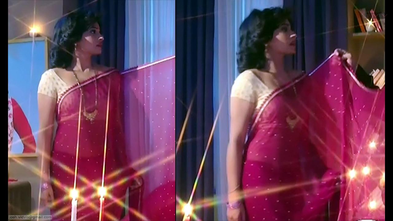 Yukti Kapoor_Hindi TV Actress_07_Hot Saree Stills