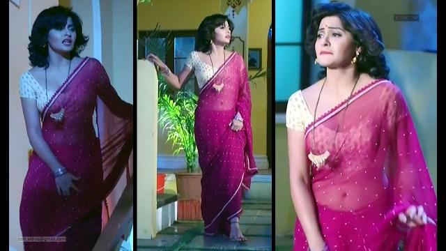 Yukti Kapoor_Hindi TV Actress_08_Hot Saree Stills