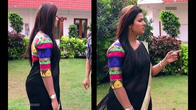 Nandhini_Tamil TV Actress03_Saree Caps