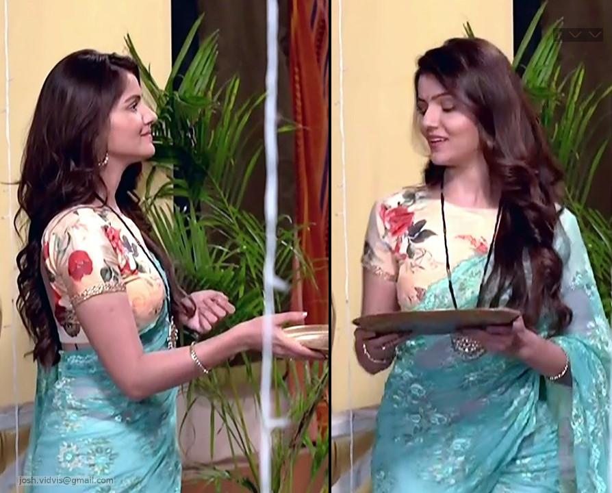 Rubina Dilaik_Desi TV celeb_07_Sari Pics