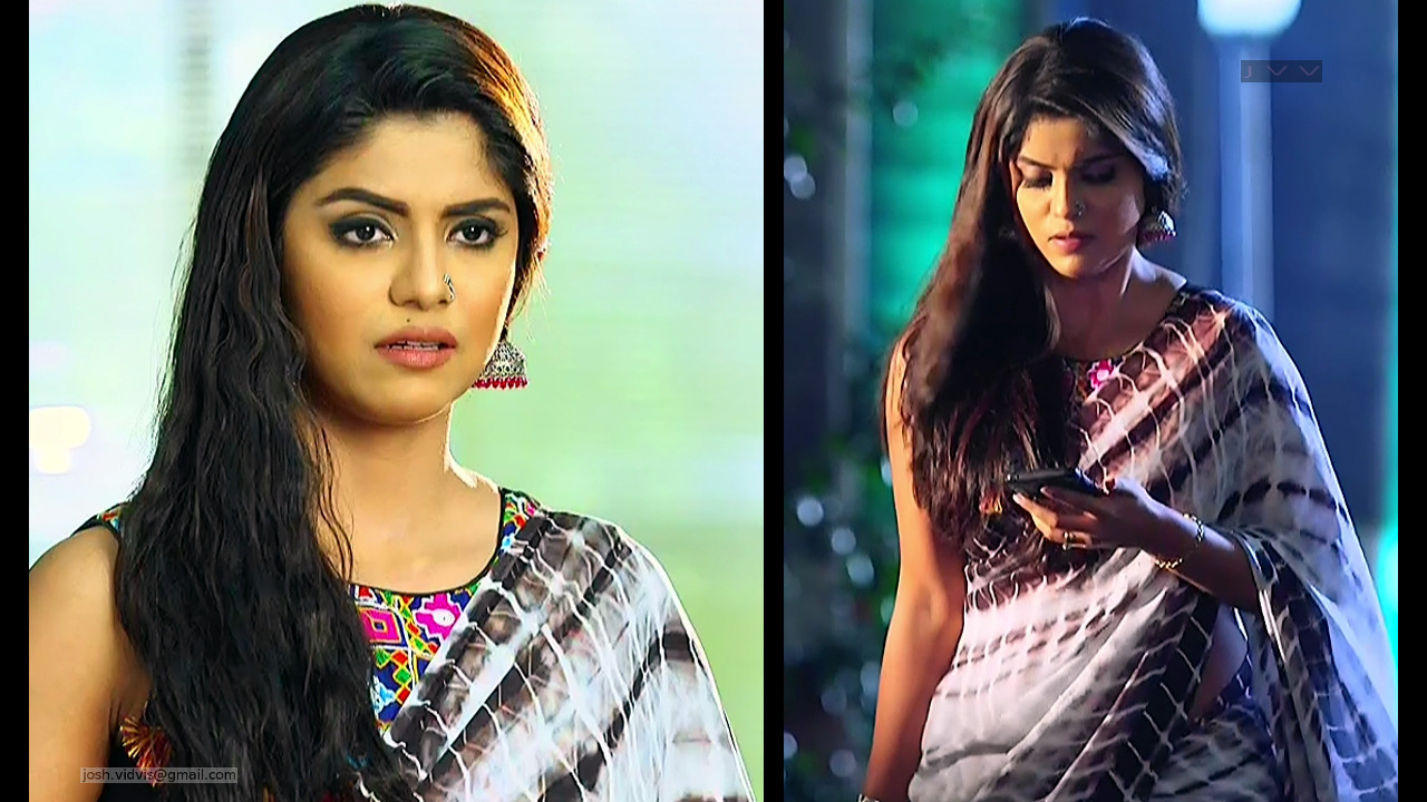 Sayantani Ghosh_Hindi TV Actress_01_Hot Saree Pics