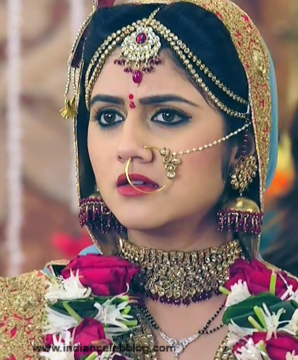 Shefali Singh Soni_Hindi TV Actress_02_Lehenga Choli Hot Pics