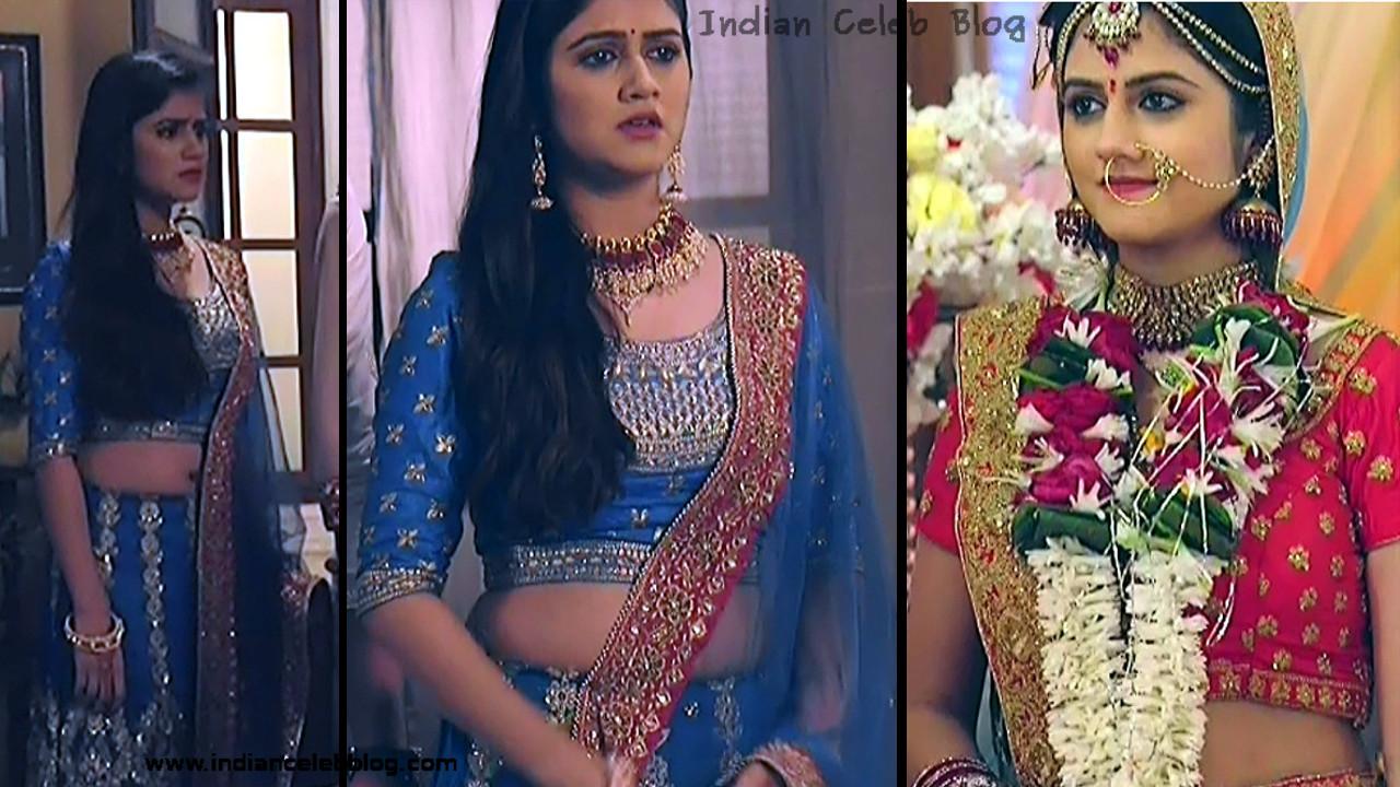 Shefali Singh navel show in lehenga choli hd tv caps