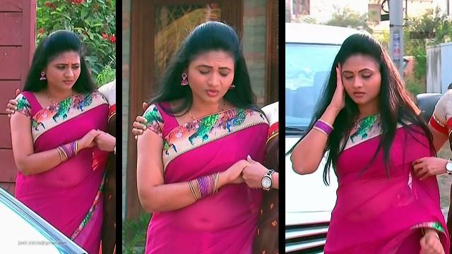 Telugu TV Actress_SVSC-S2_05_Hot Saree Pics