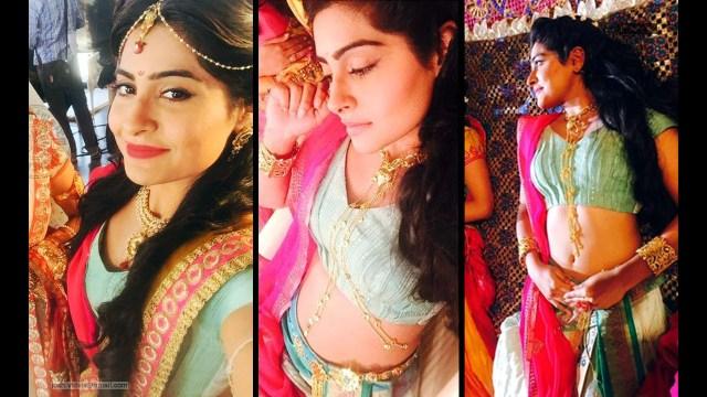 Yukti Kapoor_Hindi TV Actress_08_Stills Lehenga