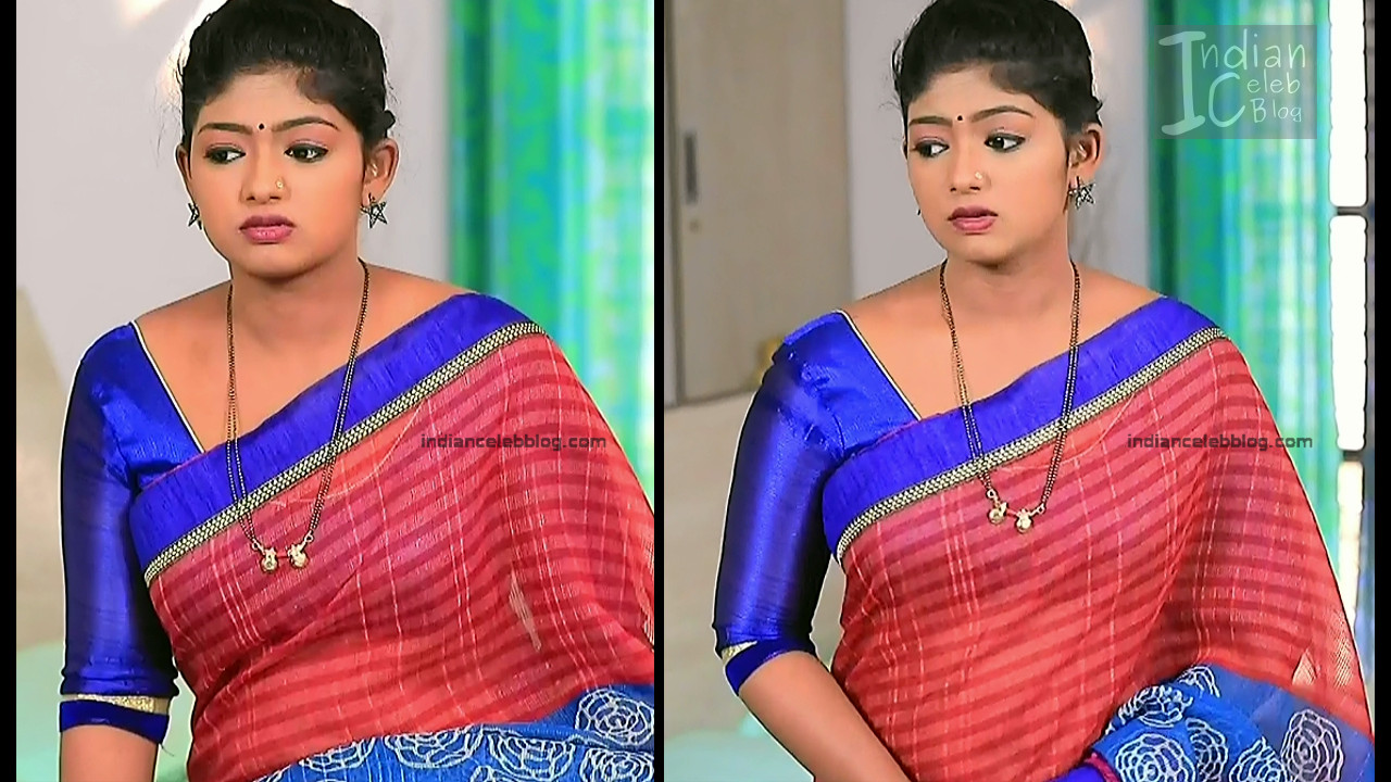 Bhoomi Shetty_Kannada TV_2_Hot serial saree caps