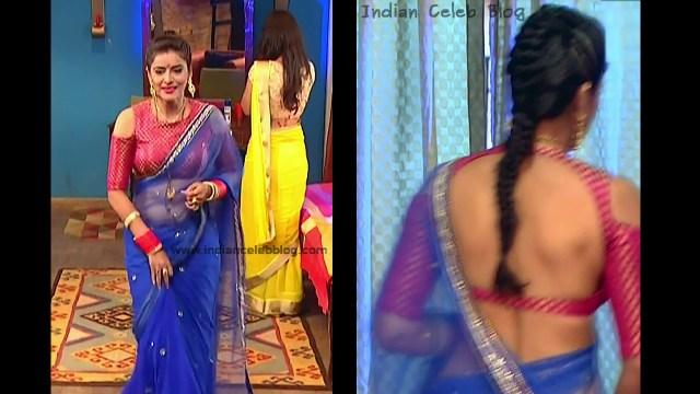 Ginnie Virdi_Hindi TV Actress_08_Hot backless saree navel pics