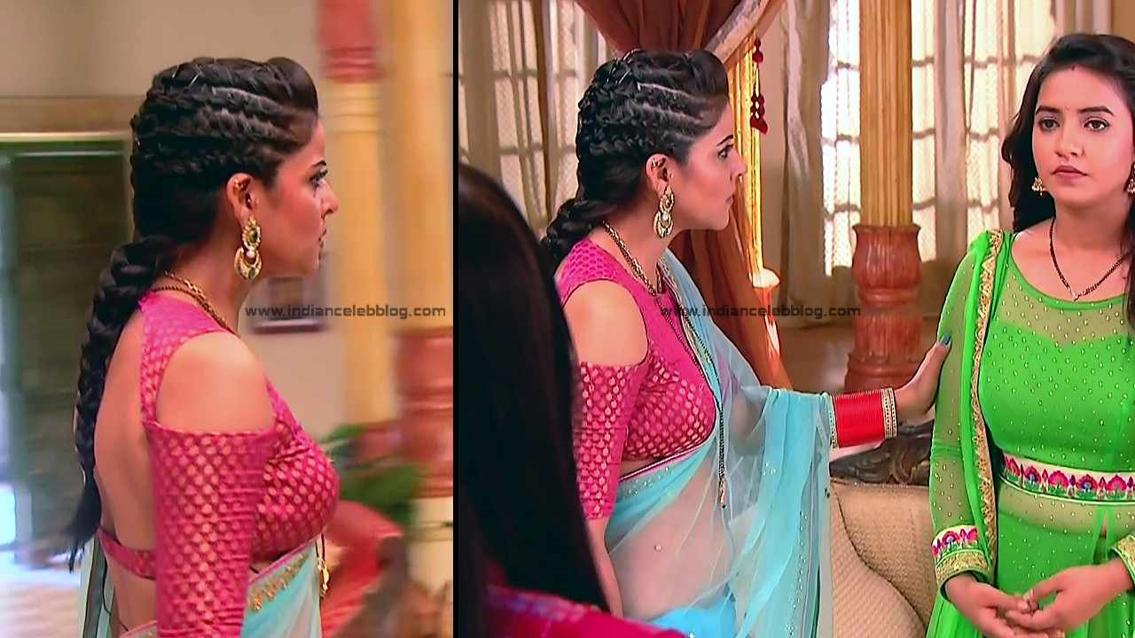 Ginnie Virdi_Hindi TV Actress_12_Hot backless saree navel pics