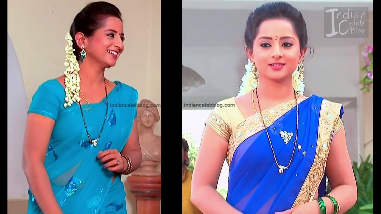 Harshitha_Telugu TV Actress_13_Saree Pics