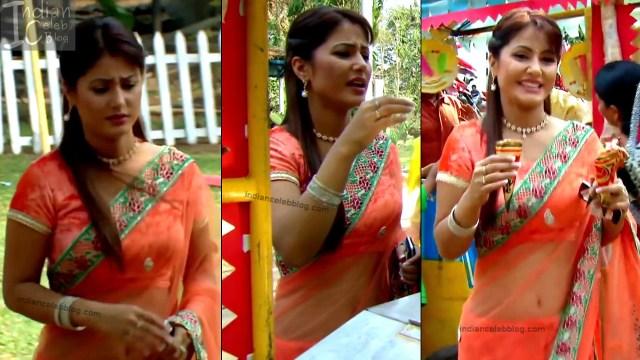 HinaKhan_Hindi TV Actress YRKKH S1_1_Hot Saree navel pics
