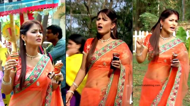 HinaKhan_Hindi TV Actress YRKKH S1_2_Hot Saree navel pics