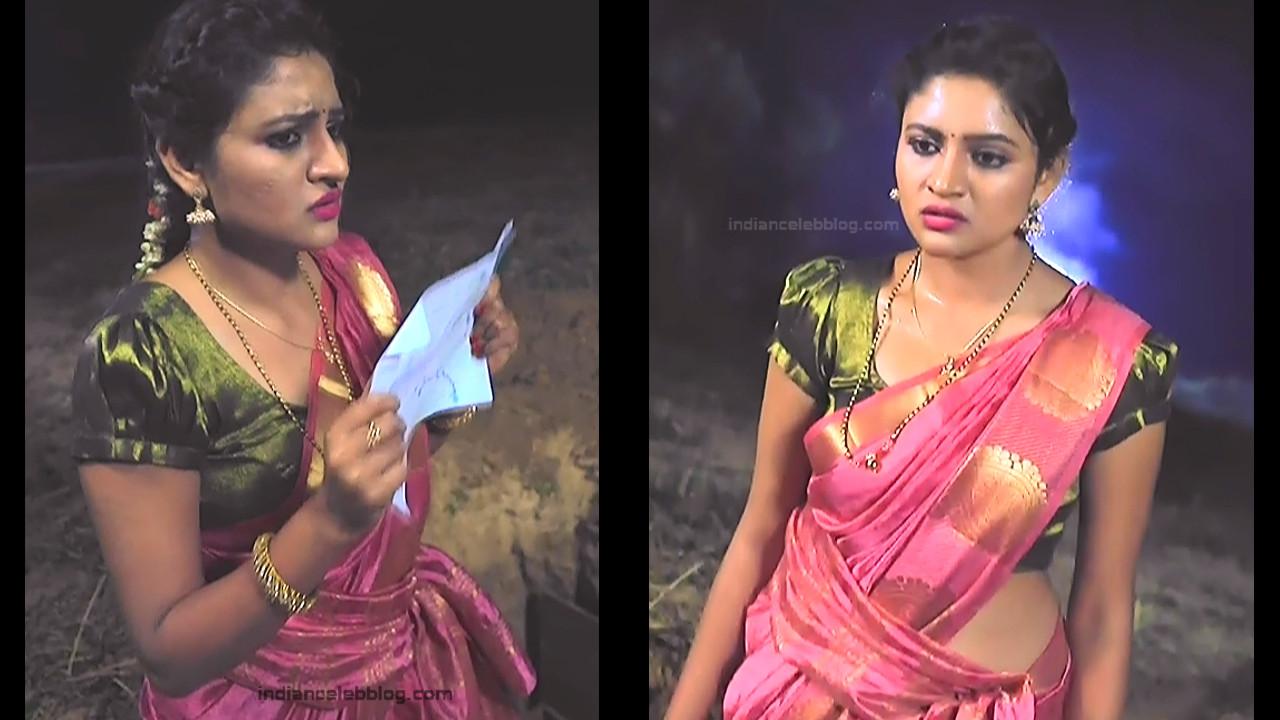 Ranjani Raghavan_Kannada TV Actress_10_Hot Saree Pics