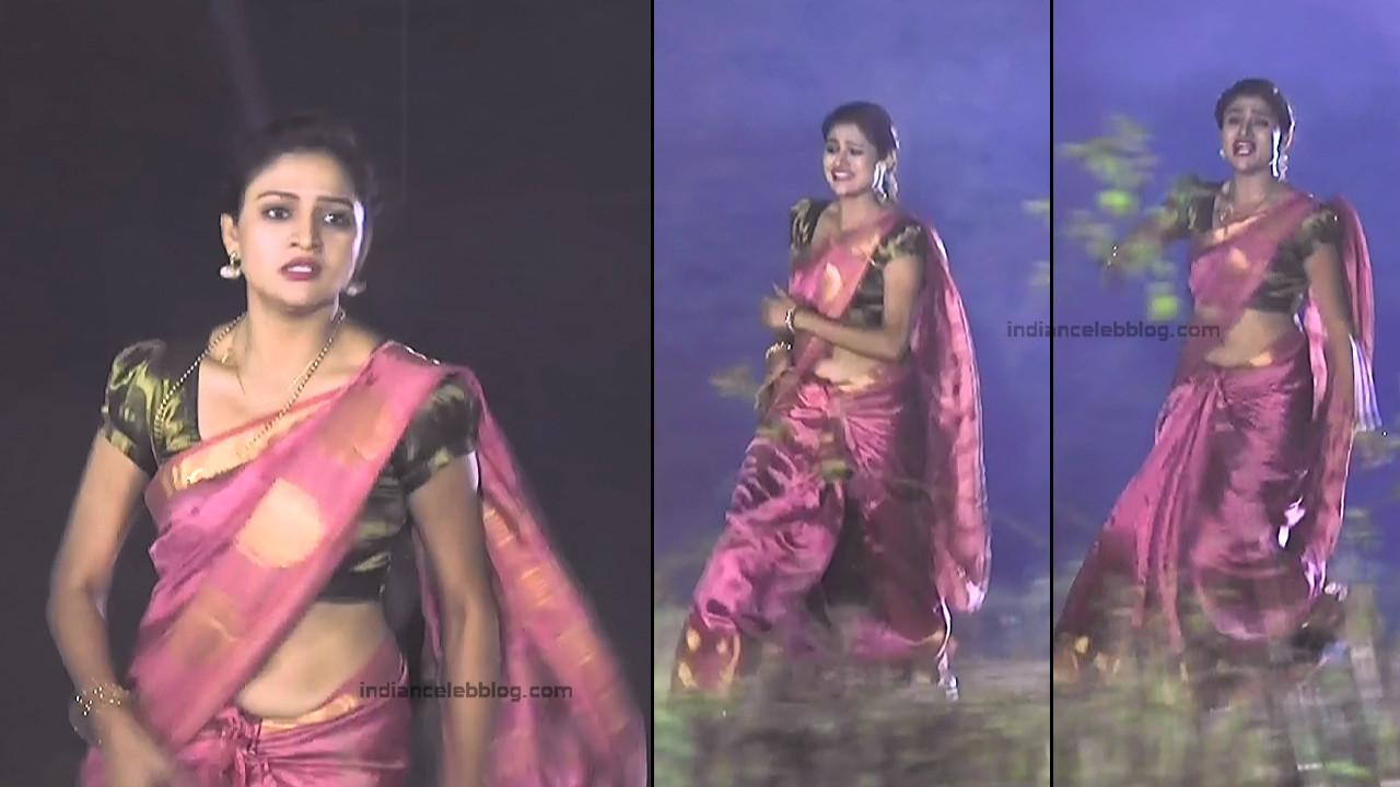Ranjani Raghavan_Kannada TV Actress_7_Hot Saree Pics