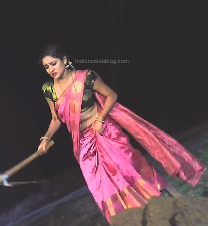 Ranjani Raghavan_Kannada TV Actress_9_Hot Saree Pics