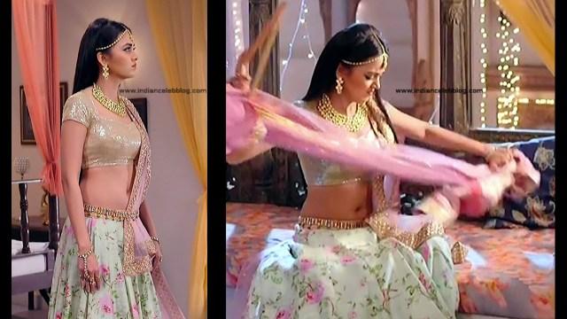 Tejaswo Prakash Wayangakar_Hindi TV Actress_12_Hot Lehenga choli Caps