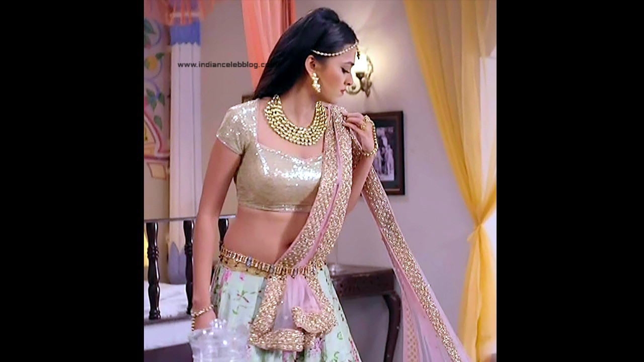 Tejaswo Prakash Wayangakar_Hindi TV Actress_14_Hot Lehenga choli Caps