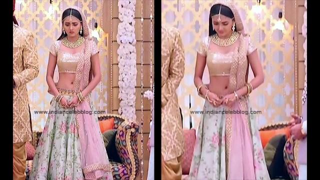 Tejaswo Prakash Wayangakar_Hindi TV Actress_17_Hot Lehenga choli Caps