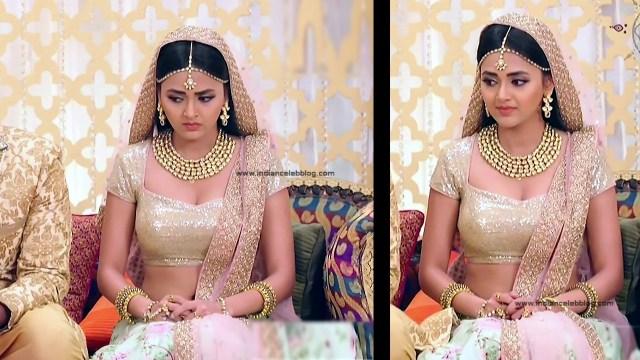 Tejaswo Prakash Wayangakar_Hindi TV Actress_18_Hot Lehenga choli Caps