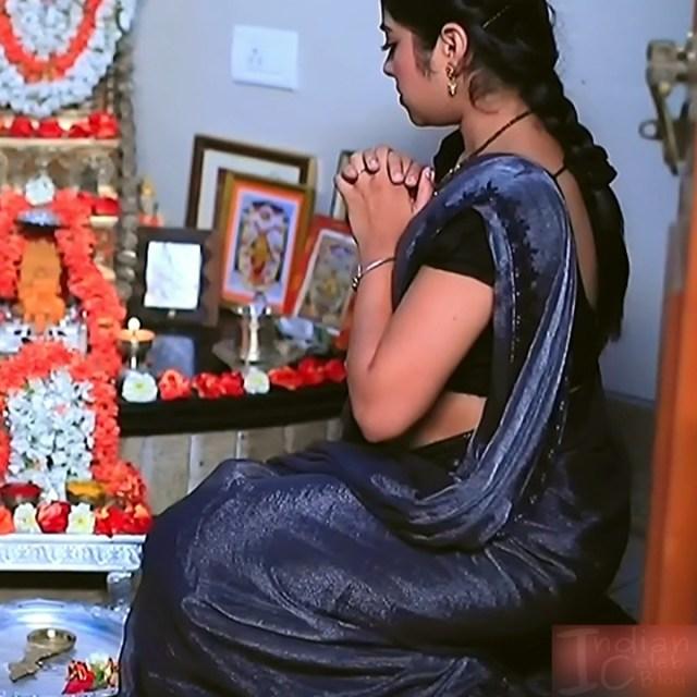 Deepika Dhanya Kannada Serial Kulavadhu S1 2 Saree Pics