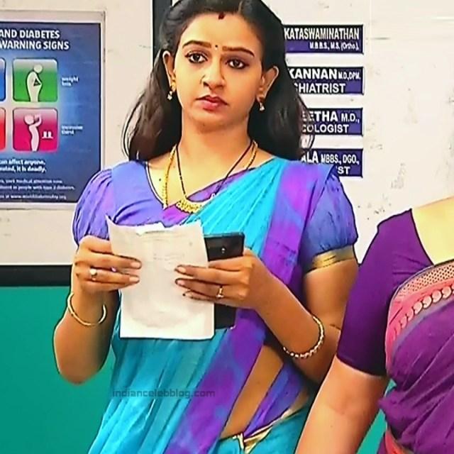 Divya_Tamil TV Actress SMG-S2_10_Saree photo
