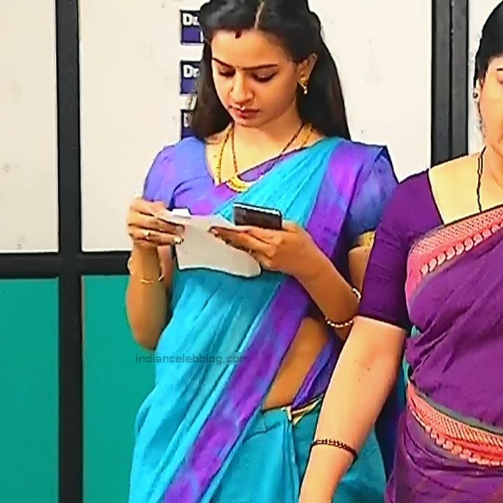 Divya_Tamil TV Actress SMG-S2_9_Saree photo
