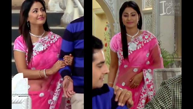 Hina Khan_Hindi TV Actress_12_Hot Sari photos