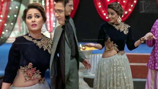 Hina Khan_Hindi TV Actress_6_Hot Sari photos