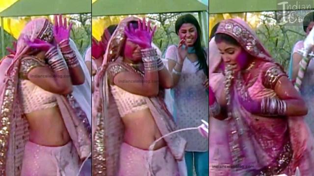 Hina Khan_Hindi TV Actress_7_Hot Sari photos