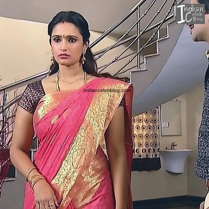 Kavya Shastry_Tamil TV Actress Mahalakshmi S1_10_Hot saree pics