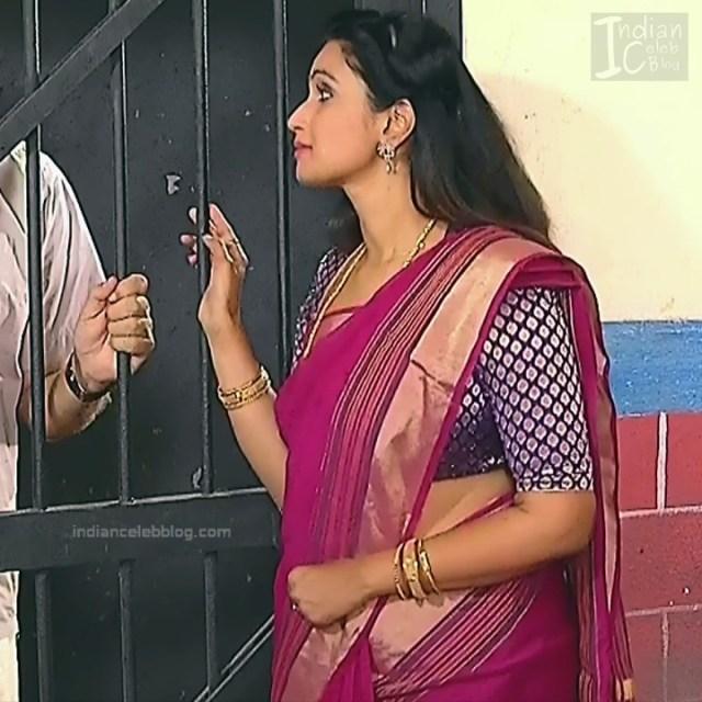 Kavya Shastry_Tamil TV Actress Mahalakshmi S1_8_Hot saree pics