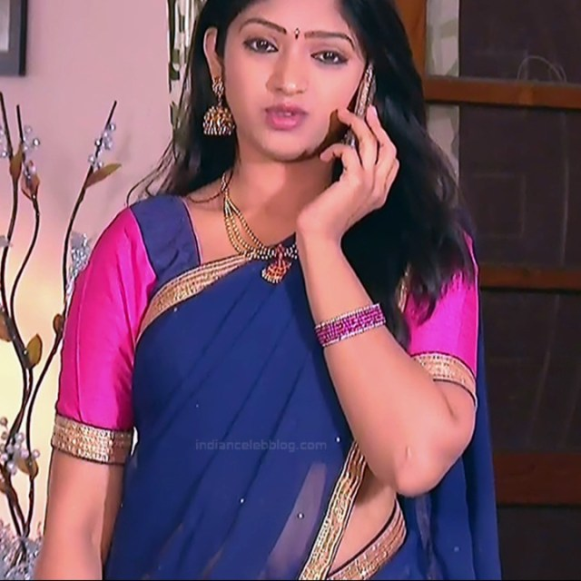 Mythili Telugu TV Actress Sundarakanda S1_8 Hot Saree Pics