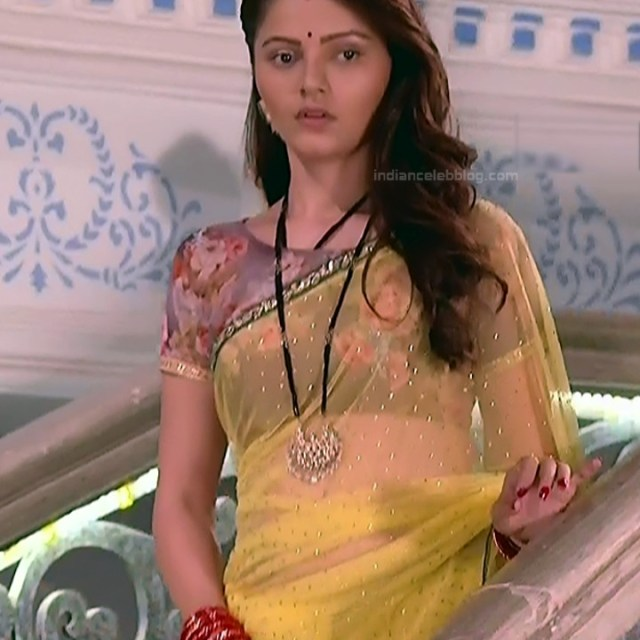 Rubina Dilaik_Hindi TV ShaktiA-S4_19_Hot Sari image