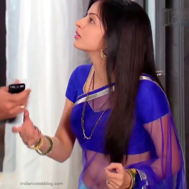 Shrenu Parikh_Hindi TV Actress - Hot Saree Pics S1_12