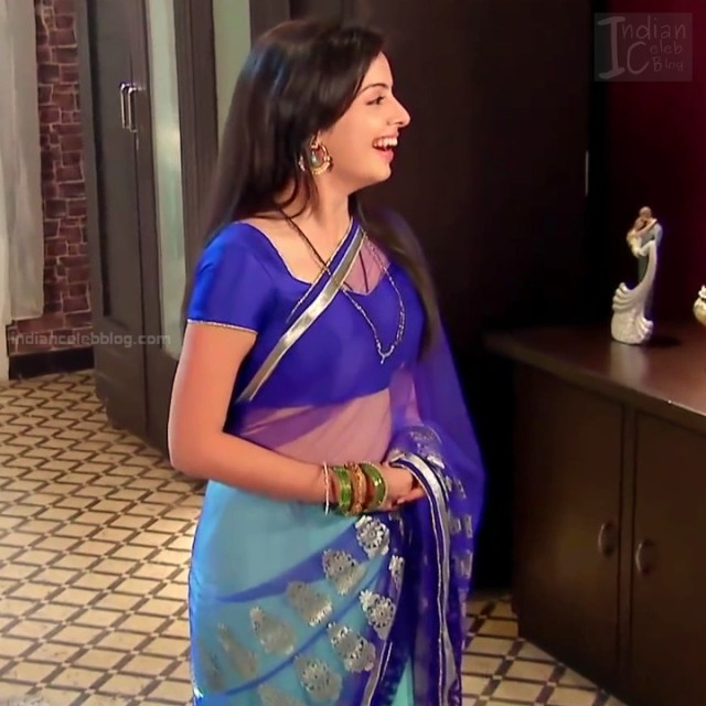 Shrenu Parikh_Hindi TV Actress - Hot Saree Pics S1_13