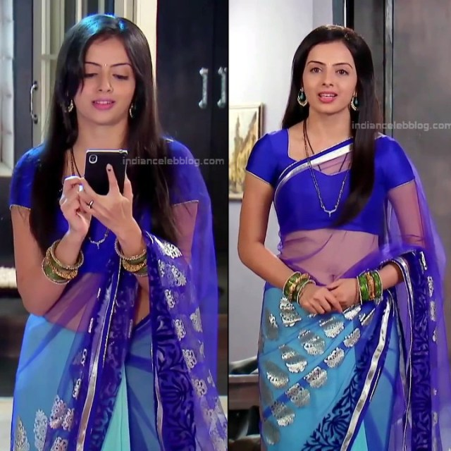 Shrenu Parikh_Hindi TV Actress - Hot Saree Pics S1_9