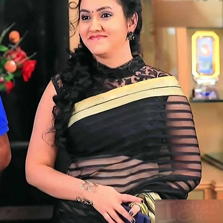 Sindhu Kalyan_Kannada TV Actress PuttaGM-S1_19_Hot Saree pics