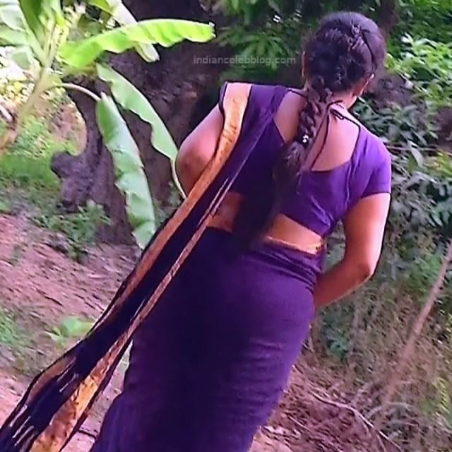Sudha Tamil TV Actress Mahalakshmi S2 5 Hot Saree Photos