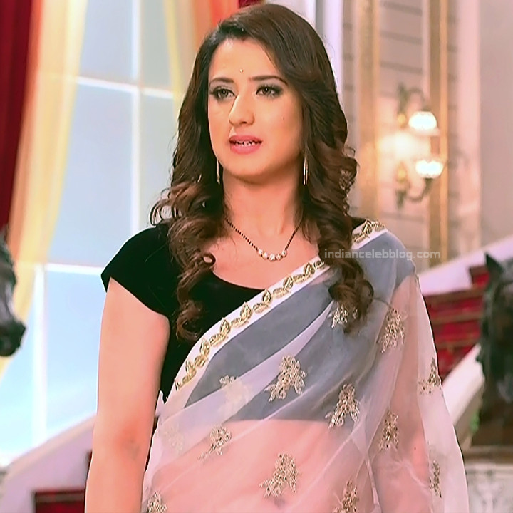 Aalisha Panwar Hindi serial actress Ishq MMS1 7 Hot Saree pic