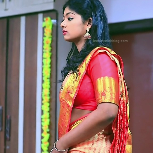 Bhoomi shetty kannada serial actress KinNS2 1 Hot saree photo