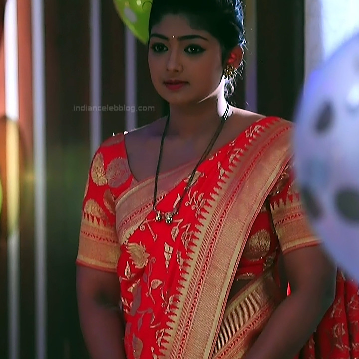 Bhoomi shetty kannada serial actress KinNS2 31 Hot saree photo