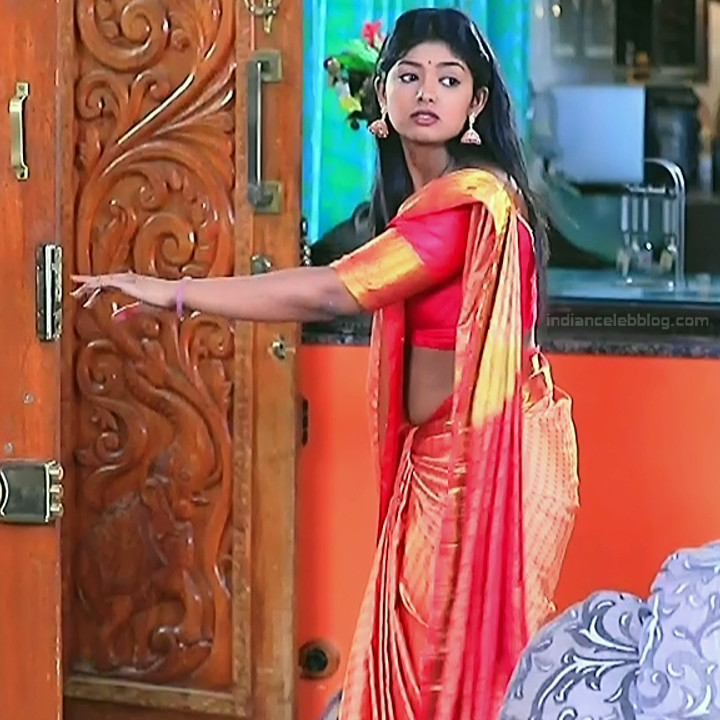 Bhoomi shetty kannada serial actress KinNS2 7 Hot saree photo